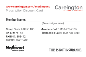 download your free card today - Free Prescription Card